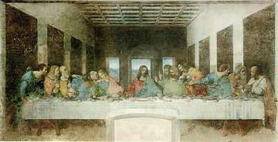 The Last Supper (Italian: Il Cenacolo or L'Ultima Cena) is a 15th century mural painting in Milan created by Leonardo da Vinci for his patron Duke Ludovico Sforza and his duchess Beatrice d'Este.
