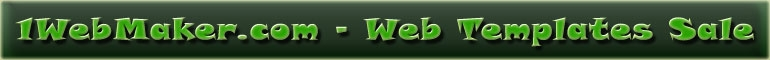 web templates, full site templates, flash templates, free web templates
